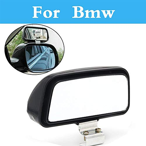 (Pukido Car Truck Blind Spot Mirror Wide Angle Rear View Adjustable for BMW E90 F30 F10 E60 E70 E40 1 3 5 7 Series E36 E46)