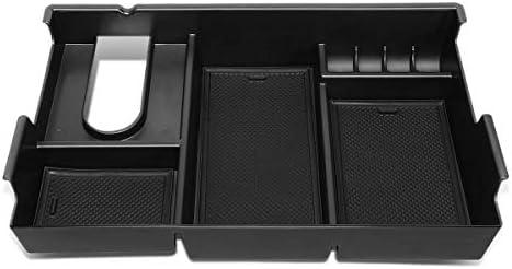 DNA MOTORING ZTL-Y-0008 Center Console Armrest Organizer Tray [for 07-19 Tundra],Black