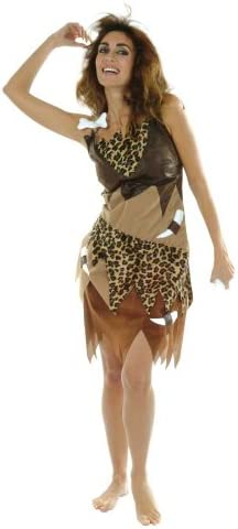 César - Disfraz de cavernícola para mujer, talla 40 cm (D052-006 ...