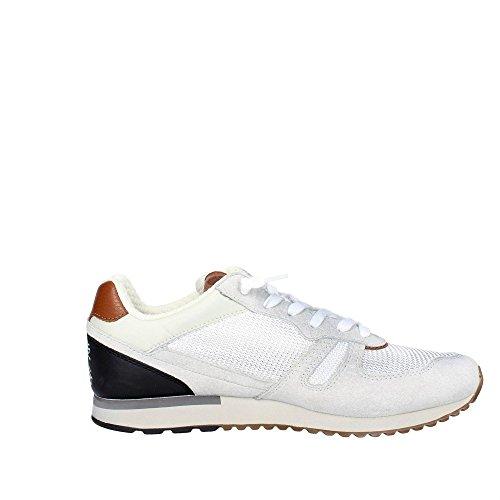Lotto Leggenda S8840 Zapatillas De Deporte Hombre Gamuza/tejido Blanco nero-bianco
