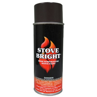 Stove Bright 6230 12 Oz Golden Fire Brown Stove Bright® High Temperature Paint