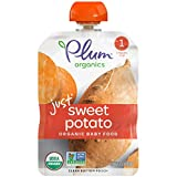 Plum Organics Stage 1, Organic Baby Food, Just Sweet Potato, 3 Ounce (Pack of 6)