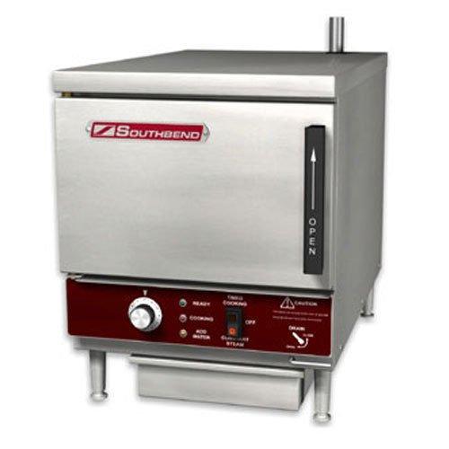 - Southbend EZ18-3 Convection Steamer, Countertop, Electric, (3) 12 x 20 x 2-1/2