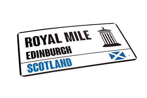 Royal Mile Edinburgh Scotland Souvenir Plaque