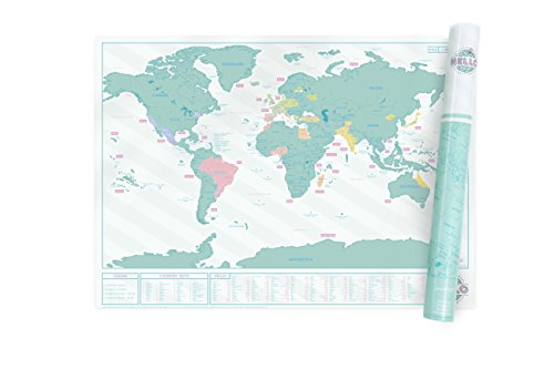 Scratch Map Hello Luckies product image