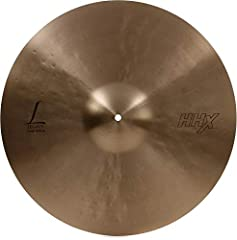 """With its dark tone, the highly-responsive SABIAN 18"""" HHX Legacy Crash can play loudly, but always remains musical. Until HHX, it was impossible to project darkness. But the dark, simmering sound, agitated bite and """"Tone Projection"""" design of ..."""