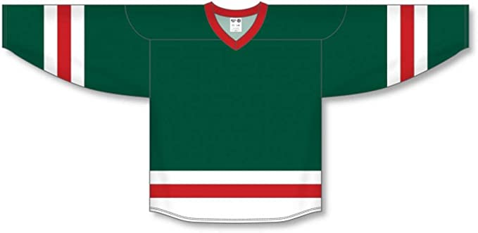 dark green hockey jersey