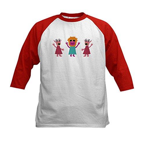 CafePress - Mahna Kids Tee Baseball Jersey - Kids Cotton Bas