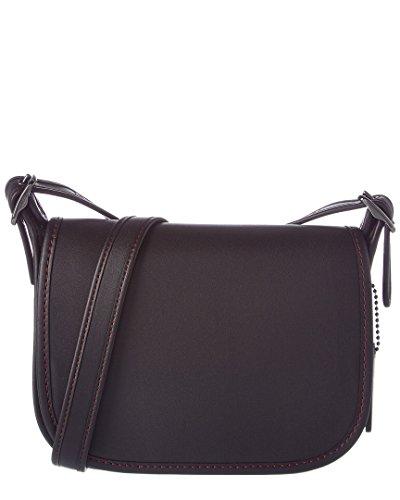 Coach Womens Leather Saddle Bag