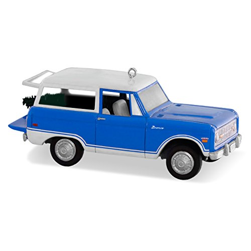 Hallmark Keepsake All American Trucks #22 1970 Ford Bronco Holiday Ornament