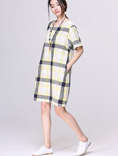 MatchLife - Camiseta sin mangas - para mujer amarillo