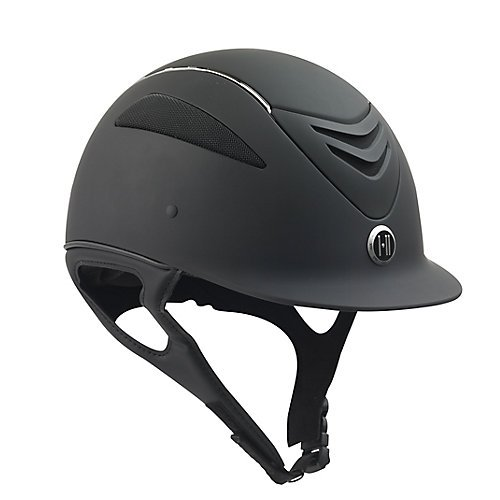 One K Defender Chrome Helmet Large Black