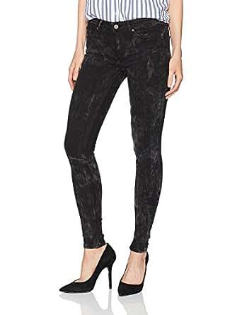 Calvin Klein Jeans Women's Legging Jean, Black Crush, 25