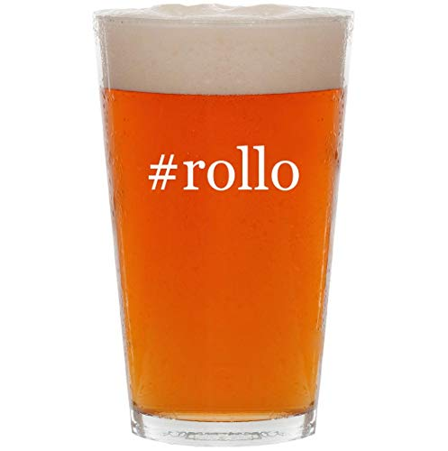 - #rollo - 16oz Hashtag All Purpose Pint Beer Glass