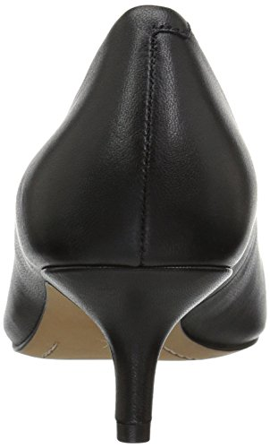 Pump Black Heel Kitten Leather 206 Collective Dress Anne Queen Women's 8Iq0qxX6
