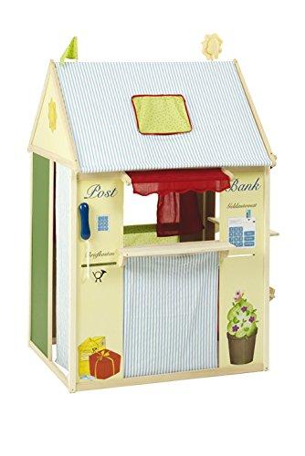 Kaufladen und Puppentheater 2 in 1 - Roba Spielhaus-Kombination