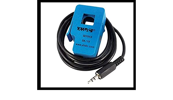 YHDC Transformador de corriente SCT 013-005 en color Azul Split Core Current Sensor: Amazon.es: Electrónica