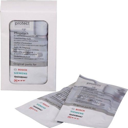 Bosch/Siemens 311134 Edelstahlpflegetuch , 5 x 1 Tuch