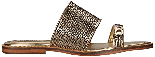 Enzo Angiolini Womens Jioni Gold Synthetic