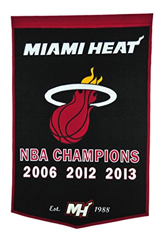 NBA Miami Heat Dynasty Banner -