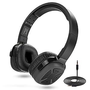 senbowe super bass wireless on ear bluetooth headphones with mic. Black Bedroom Furniture Sets. Home Design Ideas