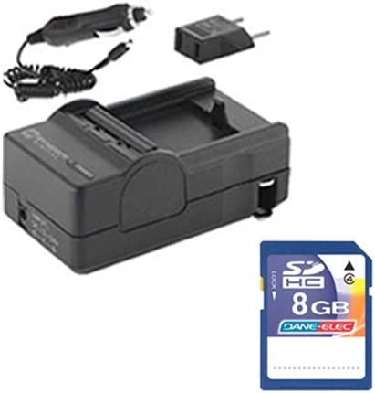 JVC GZ-E300BE Camcorder Accessory Kit includes KSD48GB Memory Card SDM-1550 Charger
