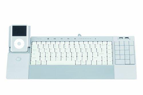 iHome iConnect Media Keyboard for Mac (IH-K231MS)