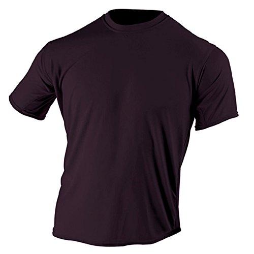 McDavid 905T Mens Half Sleeve Referee Cut Crew T Shirt Maroon XX-Large [Misc.] by McDavid