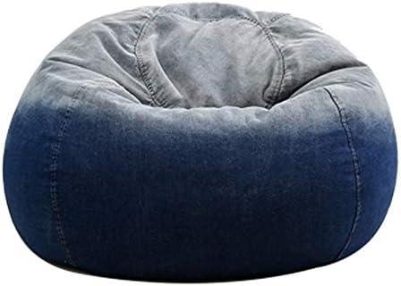 RKRGQ Reißverschluss Sitzsack Gaming Sitzsack/Kinder Sitzsäcke /65x90cm,Waschmaschinenfest - Großer, Weicher Und Komfortabler Bezug- Gemütlicher Gaming Sitz Sack & Bett Möbel Bean Bag