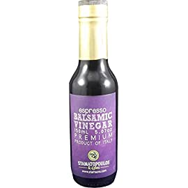 Espresso Premium Aged Balsamic Vinegar 118 Premium aged balsamic vinegar PDO from Modena, Italy Made from 100% grape must without chemicals