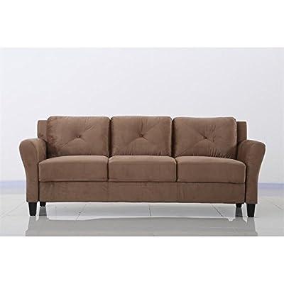 Lifestyle Solutions Norwalk Sofa In Brown