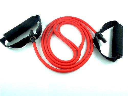 Generic Ersatz-Etikettenband für Brother-Drucker, laminiert, wird in Verpackung des Herstellers geliefert, 24mm rot rot