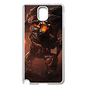 Samsung Galaxy Note 3 Cell Phone Case White League of Legends Obsidian Malphite OIW0454391