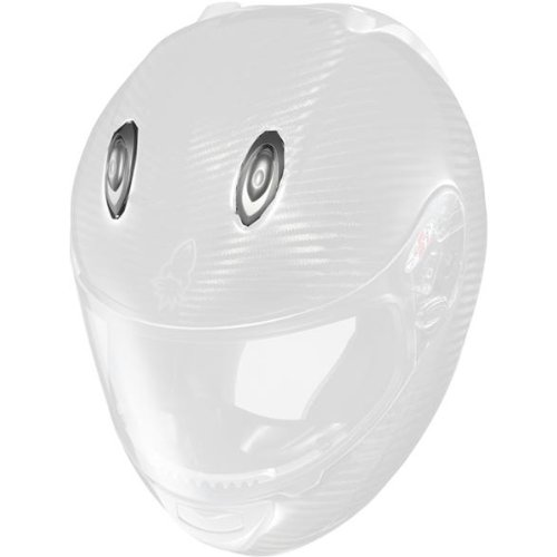 Joe Rocket Top Vent Men's RKT-101 On-Road Racing Motorcycle Helmet Accessories - Flat Silver / One - Joe Motorcycle Rocket Helmet
