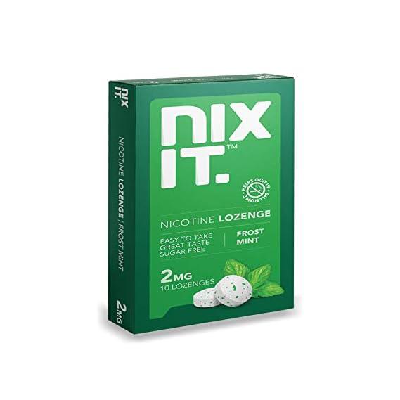 Nixit Nicotine Mint Lozenge (Pack of 3), Sugar Free - Helps Quit Smoking