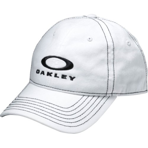 Oakley Mens TP3 Snap-Back Adjustable Hat One Size White, used for sale  Delivered anywhere in USA