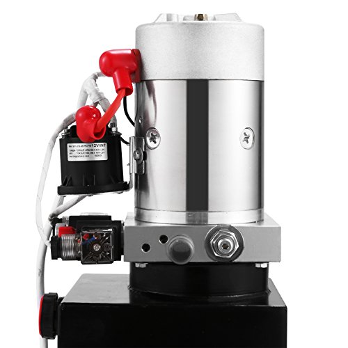 Autovictoria Bomba Hidraulica De Doble Efecto Bomba Hidraulica 12V Dump Trailer 10L Reservoir Controlado Remotamente (10L): Amazon.es: Industria, ...