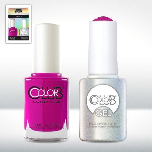 Color Club Gel MRS. ROBINSON Neon Color Club Gel + Lacquer Duo by Color - Robinson Mall