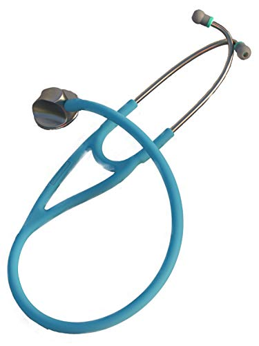 Specialist rx, Single Head Cardiology Quality Stethoscope, New Design - 971 Sky Blue