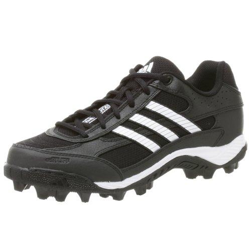 - adidas Men's Corner Blitz 7 MD Low,Black/Runwht/Metsil,8.5 M