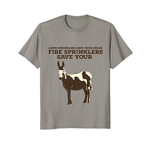 Fire Sprinklers Save Lives Funny T-Shirt
