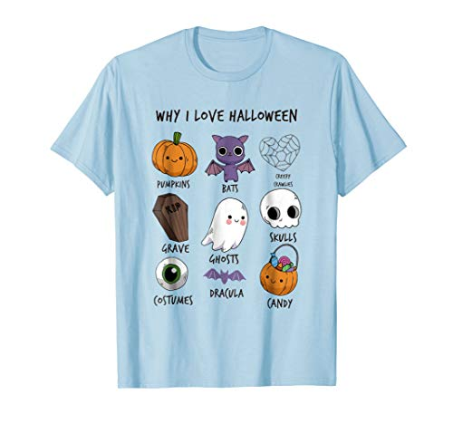 This Is Why I Love Halloween T Shirt - Funny Halloween Stuff