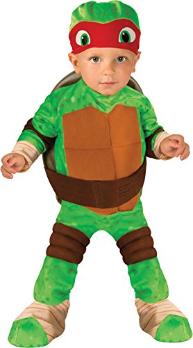 Nickelodeon Ninja Turtles Raphael Romper Shell and Headpiece, Green, Toddler ( 1-2 Years )]()