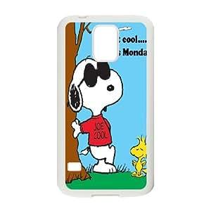 Cute dog Joe cool Snoopy Hard Plastic phone Case Cover For Samsung Galaxy S5 ZDI077881
