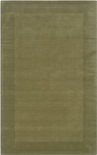 Rizzy Home PL0865 Platoon 8-Feet by 10-Feet Area Rug, Green
