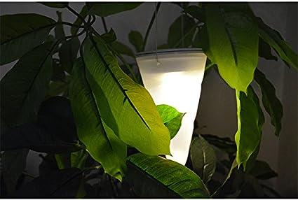 Yosoo inclusa per esterni da giardino ad energia solare con