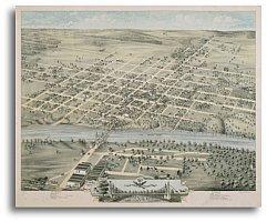 Waco 1873 by Herman Brosius - Stores Waco Texas