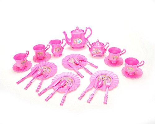 Pretend Play Dishes And Tea Playset - Princess Tea Party Set