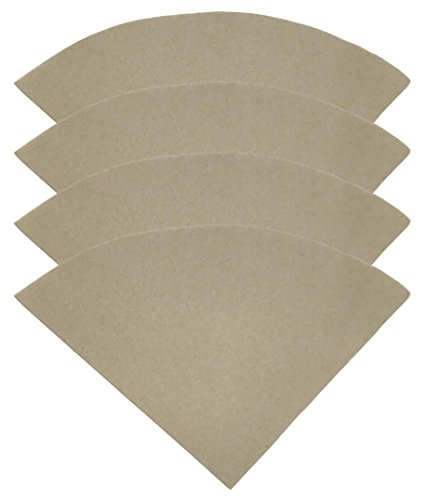 400PK Compatible Replacement Unbleached Paper Coffee Filters For 6, 8 & 10 Cup Chemex-Brand Coffee Makers, by Think Crucial by Think Crucial