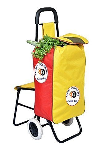 SWAGGR Shopping Trolley Bag Made in India